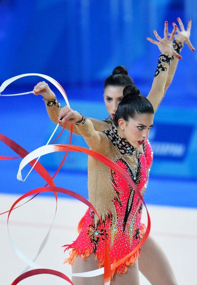 Gymnastky ze Španělska