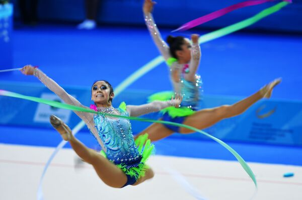 Mexické moderní gymnastky - Sputnik Česká republika
