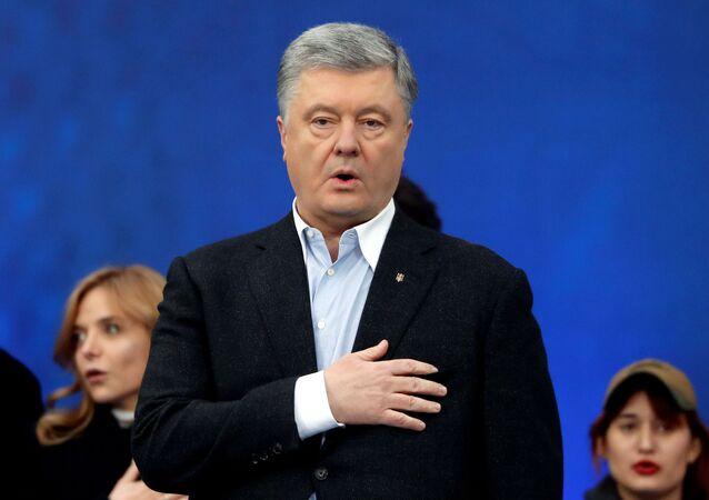 Bývalý ukrajinský prezident Petro Porošenko