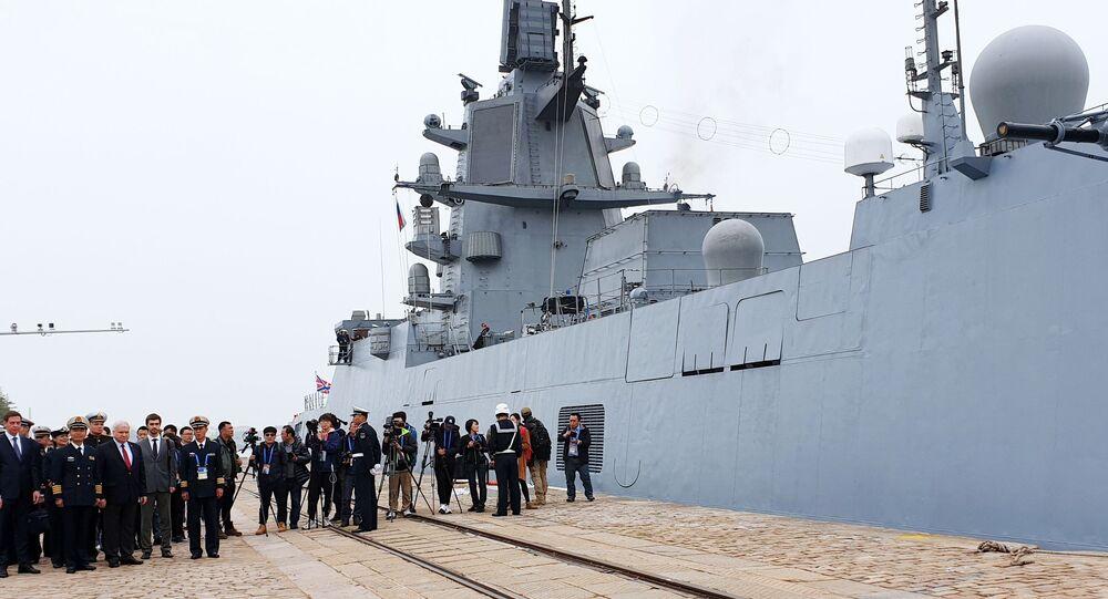 Fregata projektu 22350 Admirál flotily Sovětského svazu Gorškov