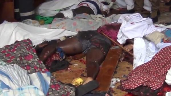 Srí Lanka: Celý kostel je v loužích krve po výbuchu bomby na Velikonoce (VIDEO0 - Sputnik Česká republika