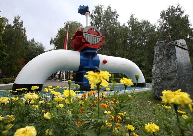 Ropovod Družba v Bělorusku. Ilustrační foto