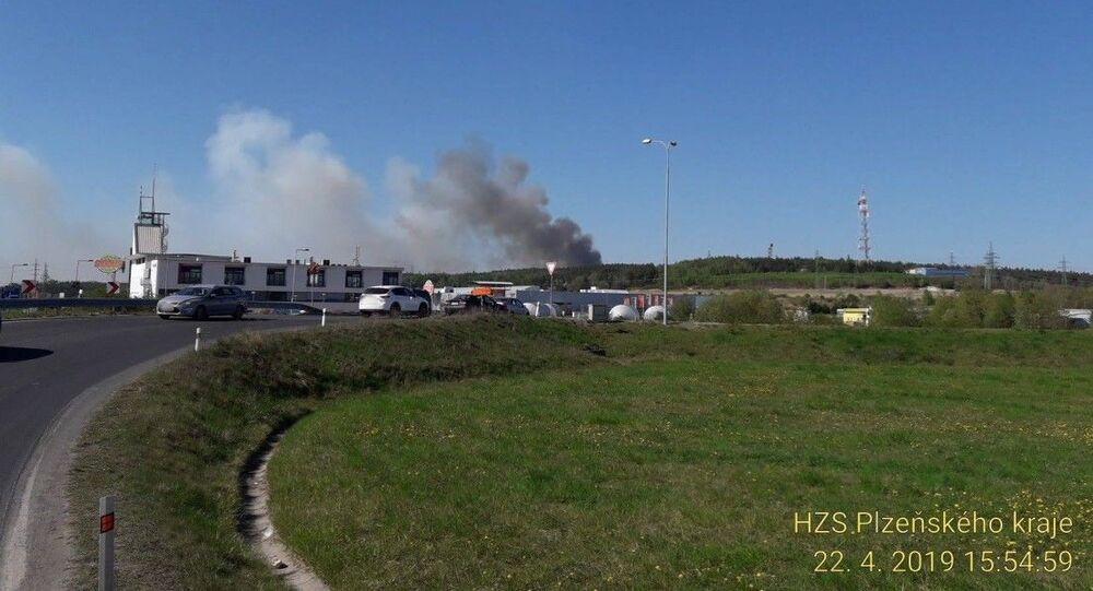 U Plzně hoří Chotíkovský les