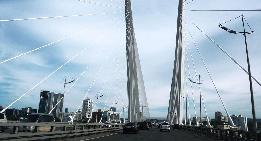 Most ve Vladivostoku. Ilustrační foto