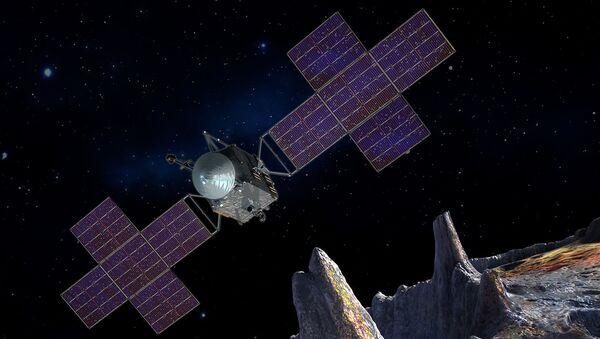 Umělecká představa kosmické lodě NASA - Sputnik Česká republika