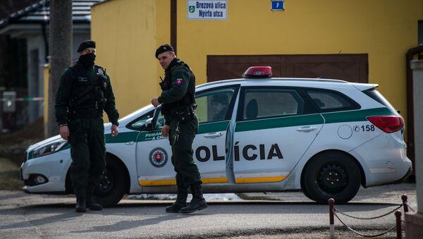 Polícia Slovenskej republiky - Sputnik Česká republika
