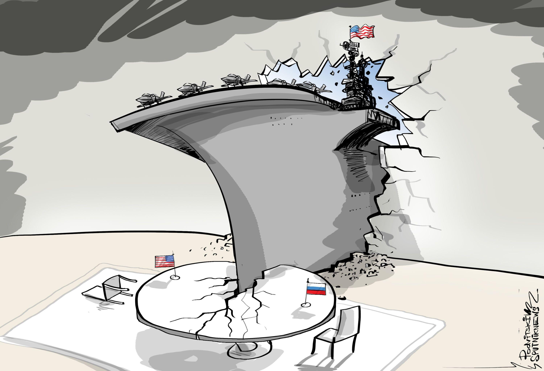 Sto tisíc tun mezinárodní diplomacie