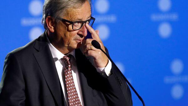 Předseda Evropské komise Jean-Claude Juncker - Sputnik Česká republika
