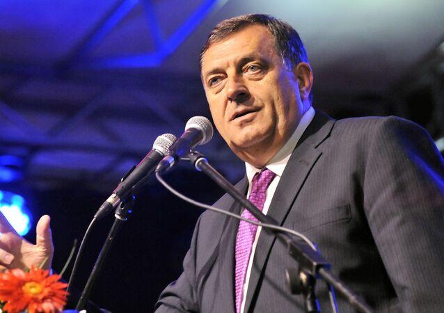 Srbský člen předsednictva Bosny a Hercegoviny Milorad Dodik
