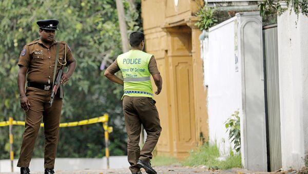 Na Srí Lance došlo k třem explozím - Sputnik Česká republika