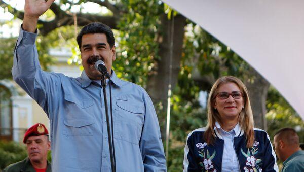 Venezuelský prezident Nicolas Maduro - Sputnik Česká republika