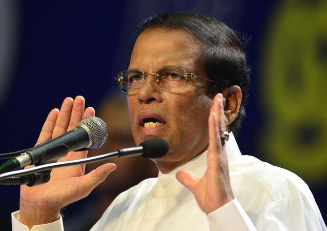 Srílanský prezident Maithripala Sirisena
