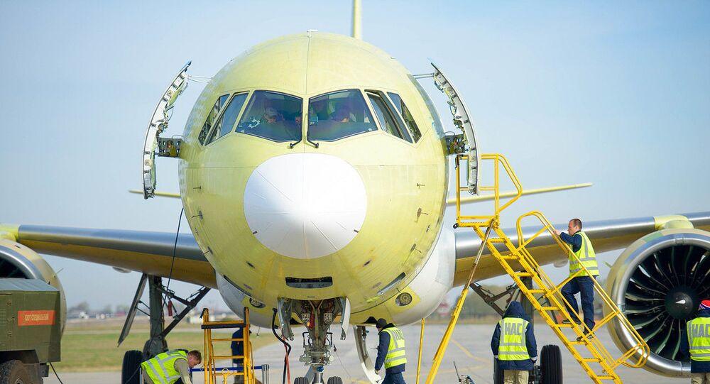 Žlutý jestřáb: zveřejněno video prototypu letounu MS-21-300