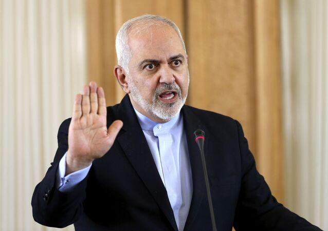 Íránský ministr zahraničí Mohamed Džavád Zaríf