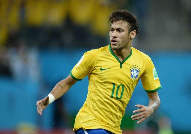 Brazilský fotbalista Neymar