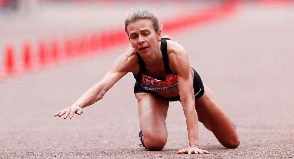 Atletka Hayley Carruthersová