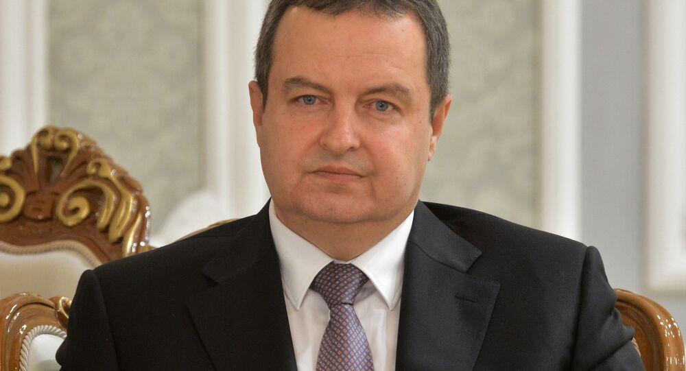 ministr zahraničí Ivica Dačić