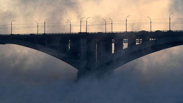 Most v mlze - Sputnik Česká republika