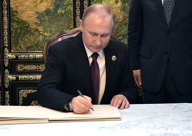 Ruský prezident po snídani s hlavou ČLR Si Ťin-pchingem