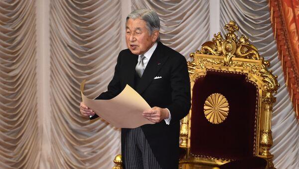 Japonský císař Akihito  - Sputnik Česká republika