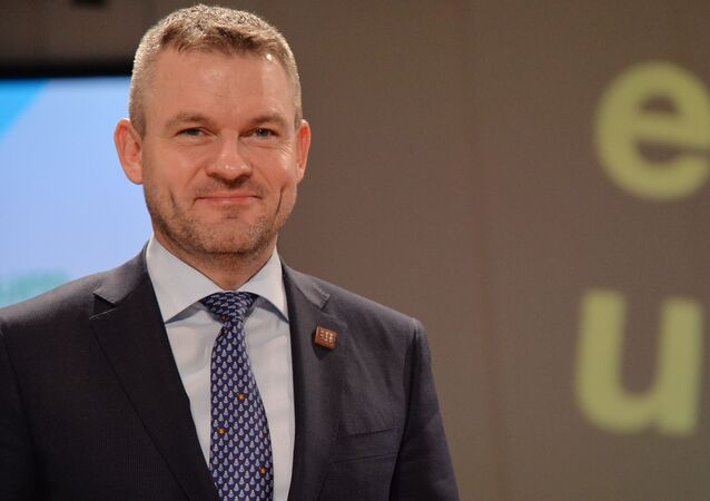 Slovenský premiér Petr Pellegrini
