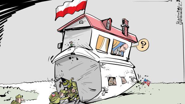 Nikdy nemají dost! Na území Polska se může zvýšit počet amerických vojáků  - Sputnik Česká republika