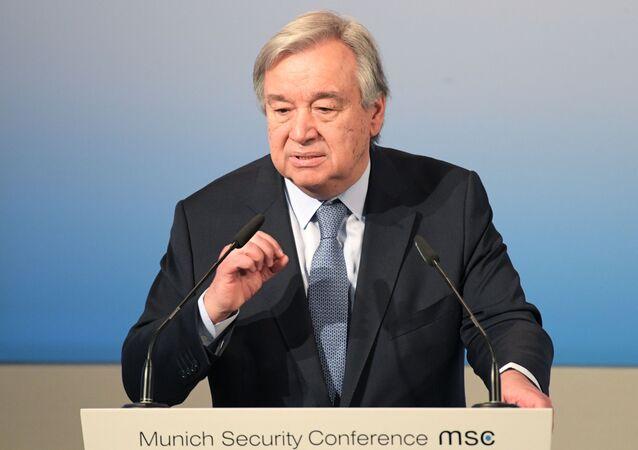 Generální tajemník OSN António Guterres