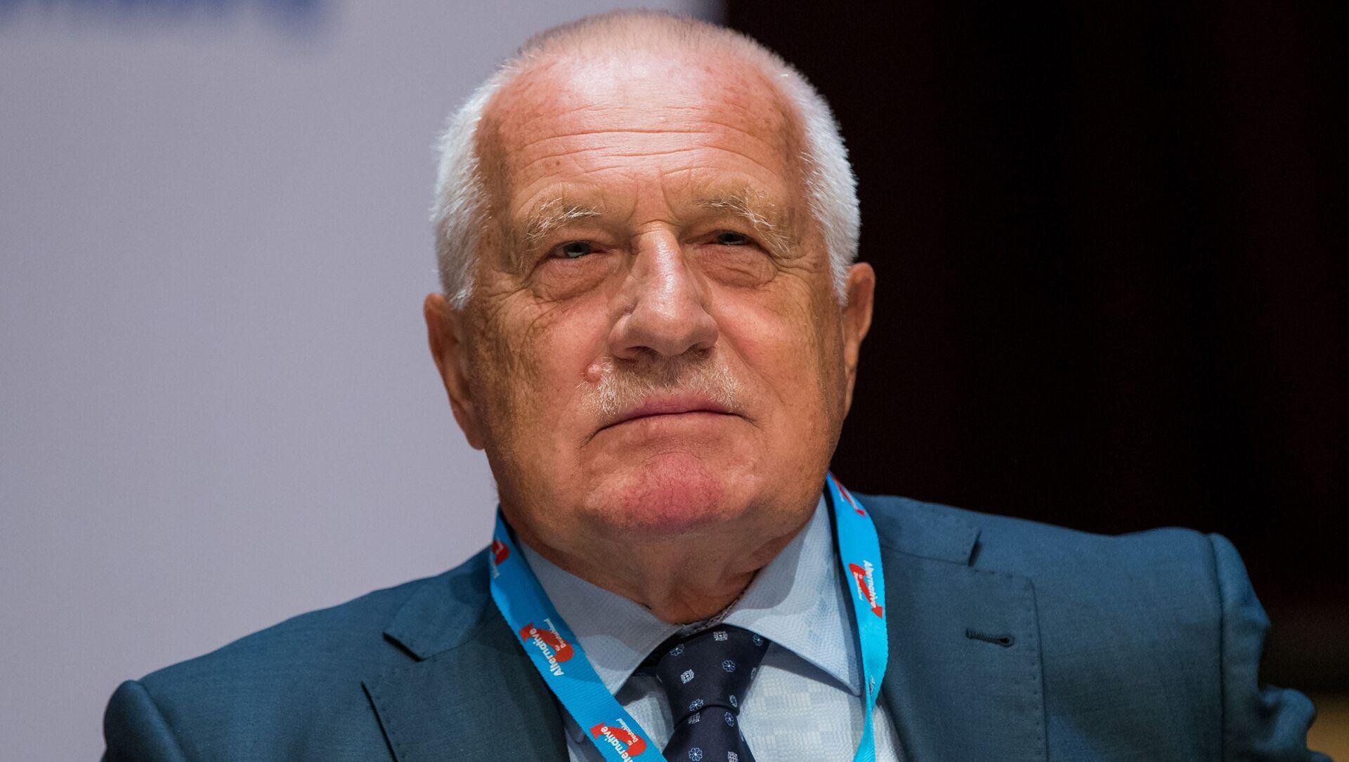 Bývalý prezident Václav Klaus - Sputnik Česká republika, 1920, 10.01.2021