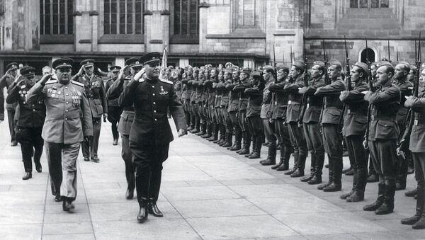 Maršál Sovětského svazu, dvakrát Hrdina Sovětského svazu Ivan Koněv - Sputnik Česká republika