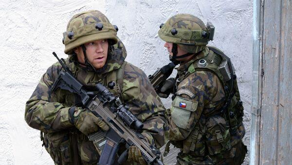 Čeští vojáci. Ilustrační foto - Sputnik Česká republika