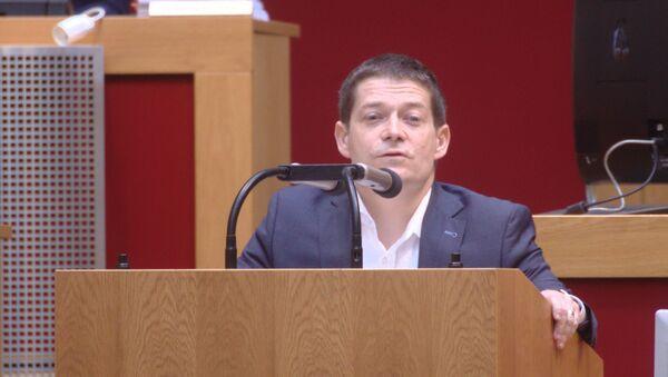 Politik Patrik Nacher - Sputnik Česká republika