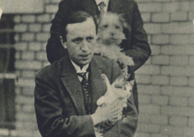 Český spisovatel Karel Čapek