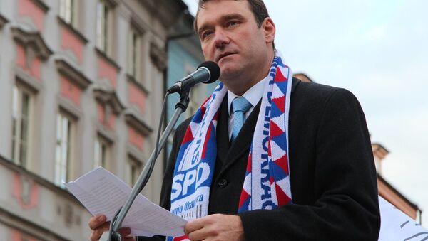 Místopředseda Svobodné a přímé demokracie Radim Fiala - Sputnik Česká republika