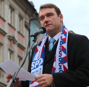 Místopředseda Svobodné a přímé demokracie Radim Fiala