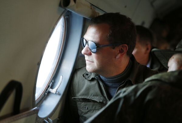 Je to už druhá návštěva Dmitrije Medveděva na Kurilách. První se uskutečnila v roce 2010 - Sputnik Česká republika