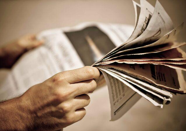 Noviny. Ilustrační foto