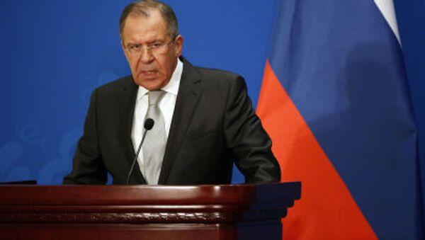Ministr zahraničních věcí Ruska Sergej Lavrov - Sputnik Česká republika