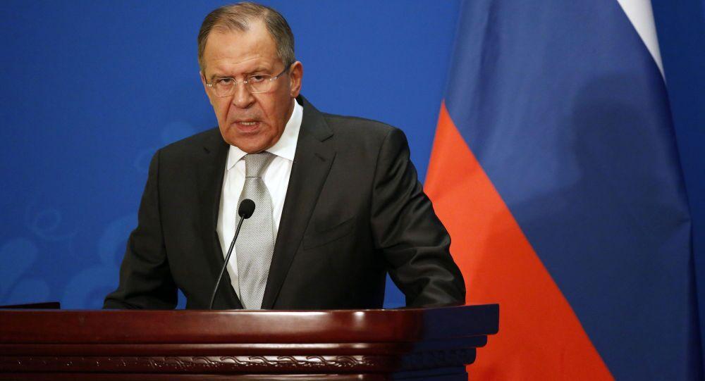 Ministr zahraničních věcí Ruska Sergej Lavrov