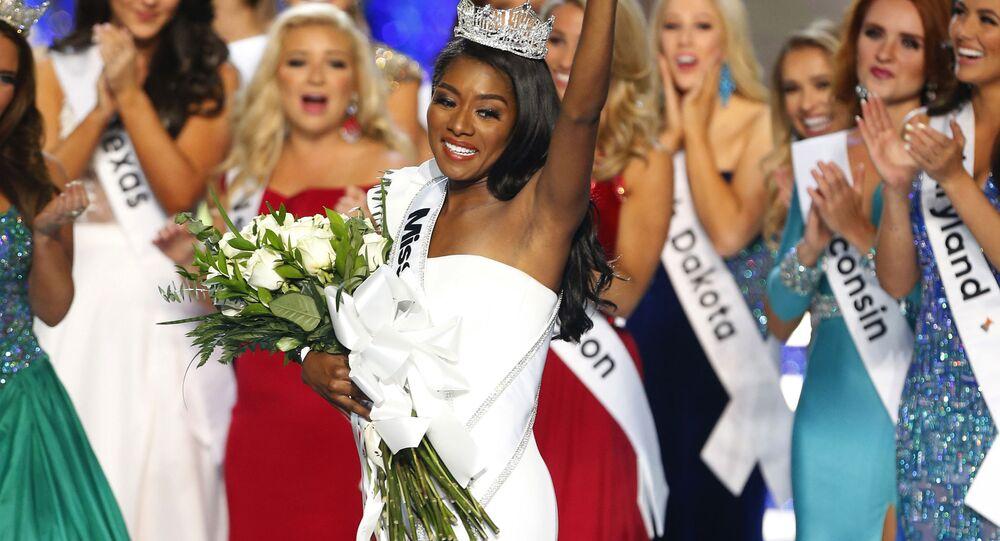 Miss New York Nia Franklin