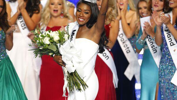 Miss New York Nia Franklin - Sputnik Česká republika