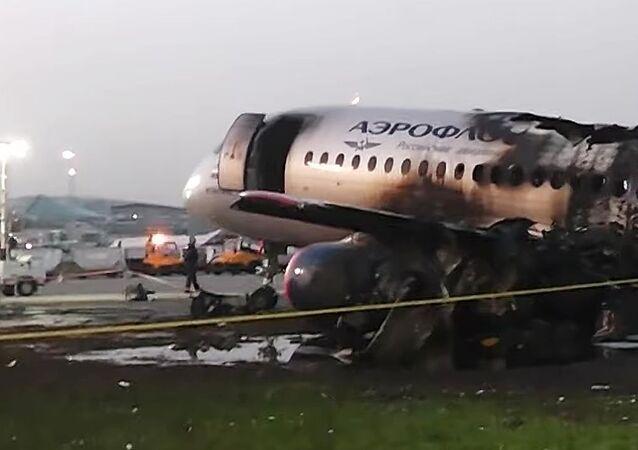 Havárie letadla Sukhoi Superjet-100 v Šeremetěvu