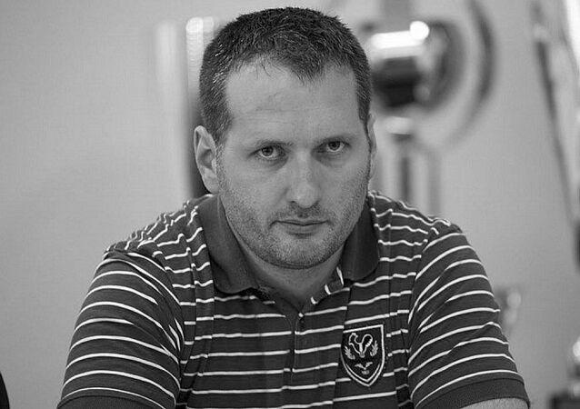 Slovenský hokejbalový trenér Dušan Danko
