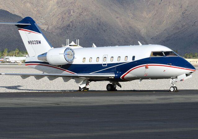 Letadlo Bombardier Challenger 600. Ilustrační foto