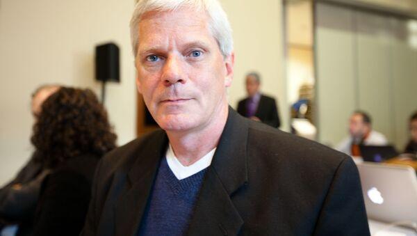 Nový ředitel Wikileaks Kristinn Hrafnsson - Sputnik Česká republika