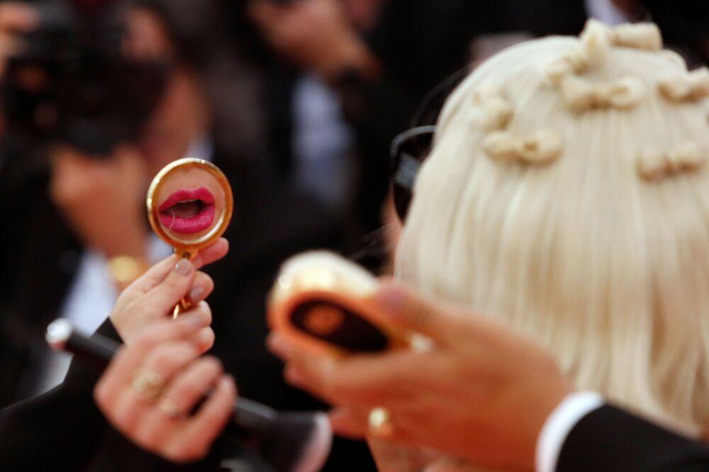 Zpěvačka a herečka Lady Gaga na Met Gala 2019 v New Yorku
