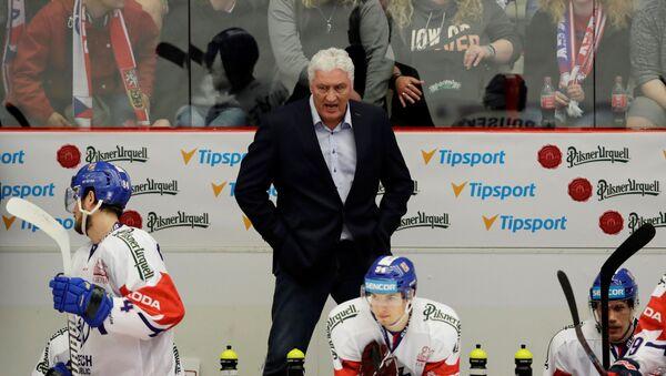 Bývalý trenér české hokejové reprezentace Miloš Říha - Sputnik Česká republika
