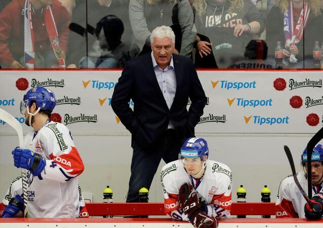 Bývalý trenér české hokejové reprezentace Miloš Říha