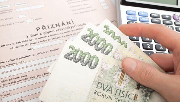 Přiznání k dani z příjmu právnických osob - Sputnik Česká republika