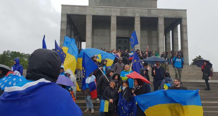 Proukrajinští aktivisté, Bratislava