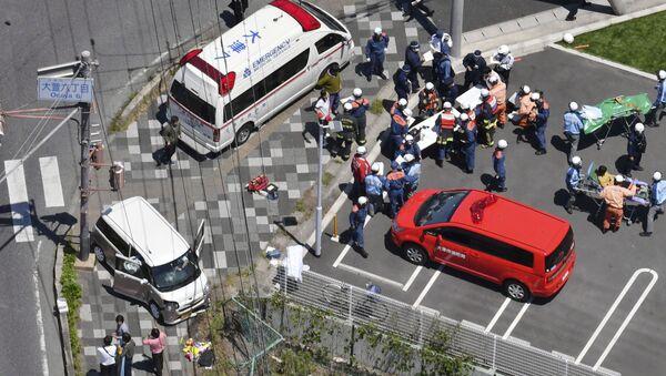 V Japonsku auto najelo do skupiny dětí - Sputnik Česká republika
